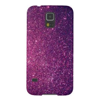 Elegant  chic luxury contemporary glittery galaxy s5 case