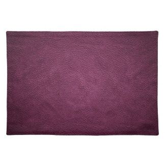 Elegant chic luxury contemporary  leather placemat