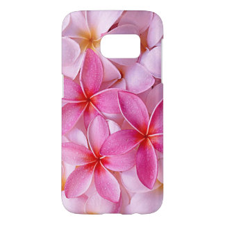 Elegant Chic Pastel Pink Hawaiian Plumeria Flowers