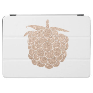 elegant chick rose gold glitter berry iPad air cover