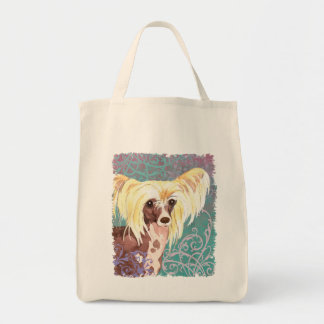 Elegant Chinese Crested Tote Bag