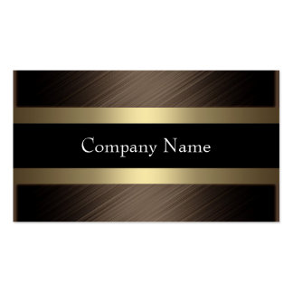 Elegant Chocolate with Black Coffee Double-Sided Standard Business Cards (Pack Of 100)
