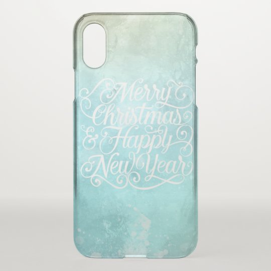 Elegant Christmas and New Year | iPhone X Case