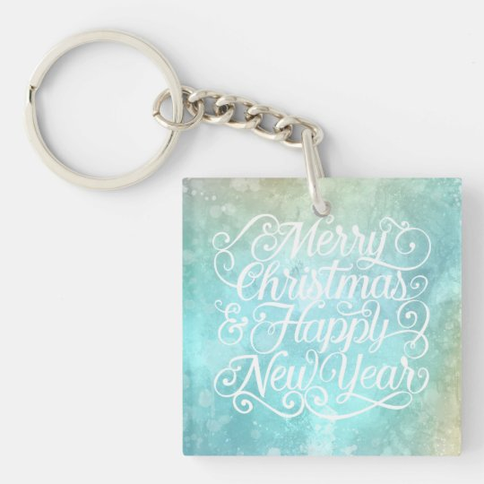 Elegant Christmas and New Year | Keychain