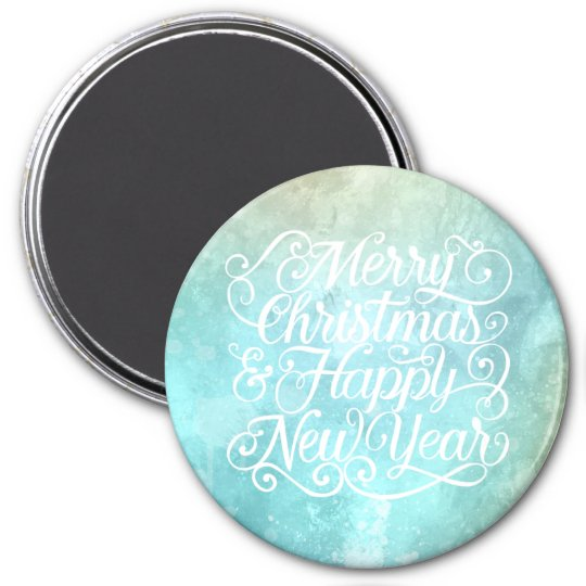 Elegant Christmas and New Year | Magnet
