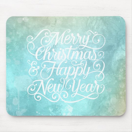 Elegant Christmas and New Year | Mousepad