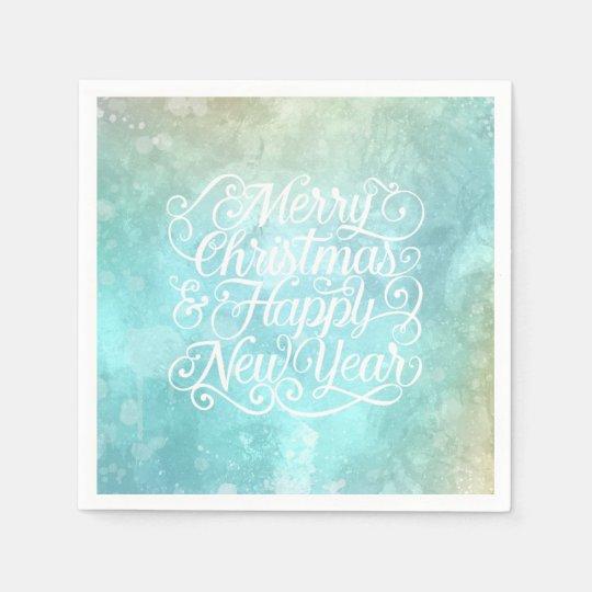 Elegant Christmas and New Year    Napkin Disposable Napkin