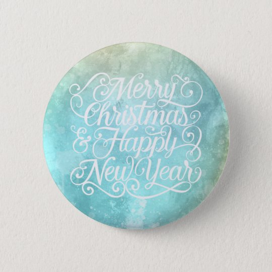 Elegant Christmas and New Year | Pin Button
