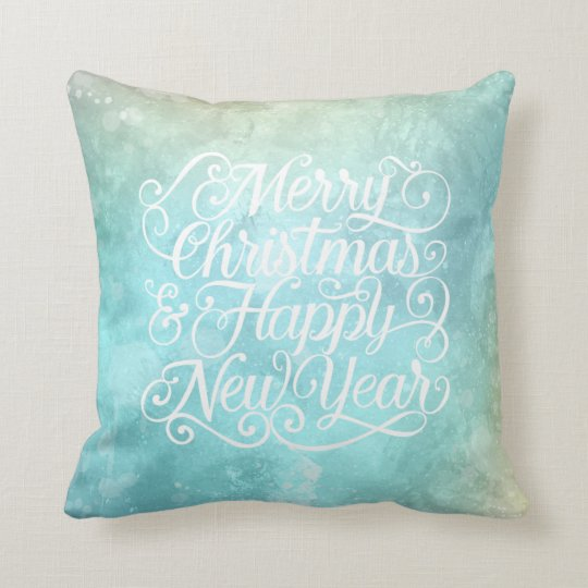 Elegant Christmas and New Year | Throw Pillow