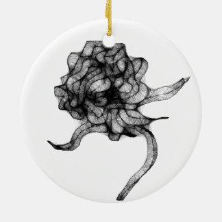 Elegant Christmas damask Christmas Ornament