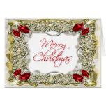 Elegant christmas greeting message