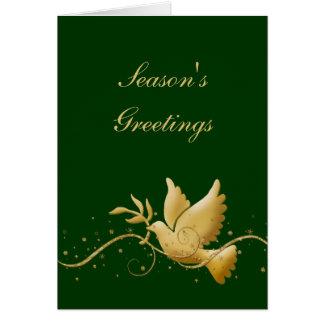 Elegant Christmas holiday photo Greeting Card