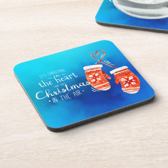 Elegant Christmas in the Heart | Coaster