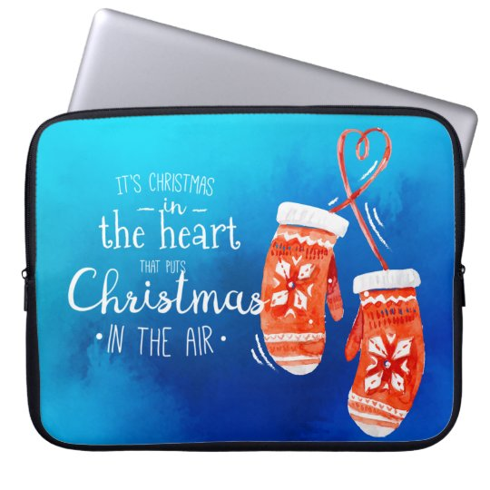Elegant Christmas in the Heart | Laptop Sleeve