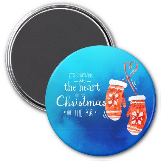 Elegant Christmas in the Heart | Magnet