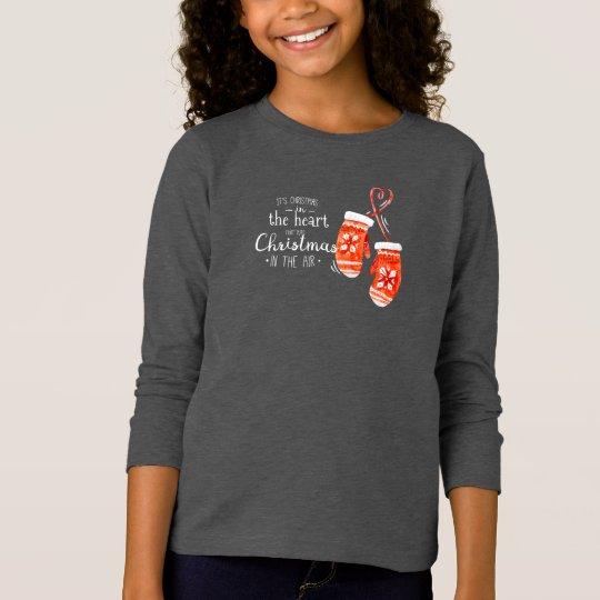 Elegant Christmas in the Heart | Sleeve Shirt