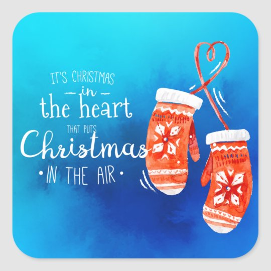 Elegant Christmas in the Heart | Sticker Seal