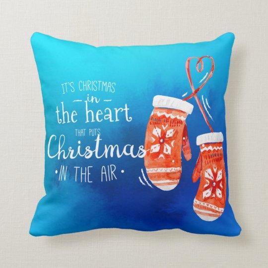Elegant Christmas in the Heart | Throw Pillow