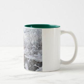 Elegant Christmas mug