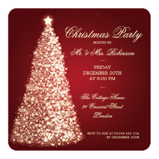 Elegant Christmas Invitations & Announcements | Zazzle.co.uk