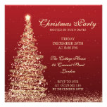 Elegant Christmas Party Red