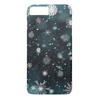 Elegant Christmas Snowflakes   Phone Case