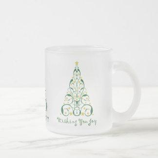 Elegant Christmas Tree Mugs