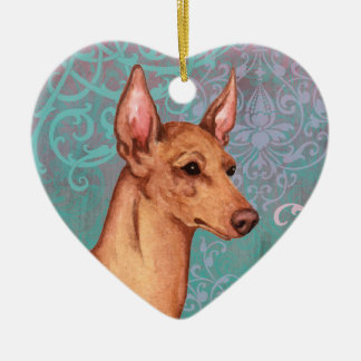 Elegant Cirneco dell'Etna Christmas Ornament