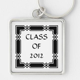 Elegant Class of 2012 Graduation Gift Keychain