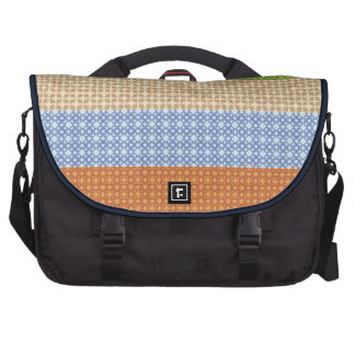 Elegant classic colorful fashion seamless patter laptop bags