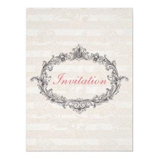 Elegant Classic Personalized Wedding Invitation