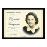 Elegant Classic Photo Invitation 2