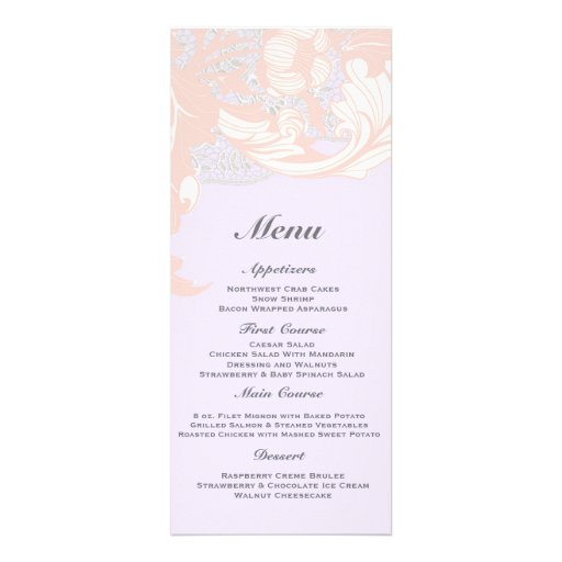 Elegant Classy Florals - Lavender, Pink, Blush Personalized Announcements