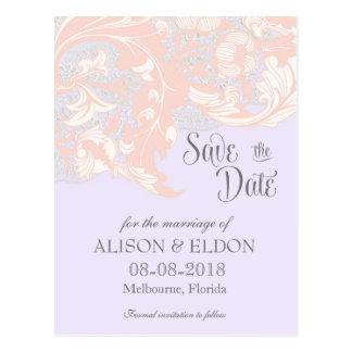 Elegant Classy Florals - Lavender, Pink, Blush Postcard