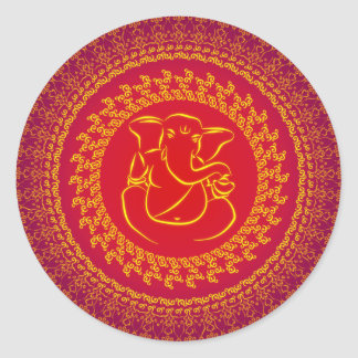 Elegant Classy Ganesh/ Indian God Sticker
