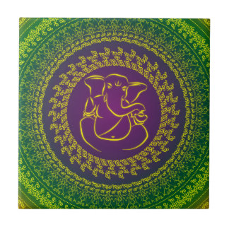 Elegant Classy Ganesh/ Indian God Tile