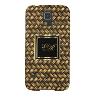 Elegant Classy Gold Metal Look Samsung Galaxy S5 Galaxy S5 Cases