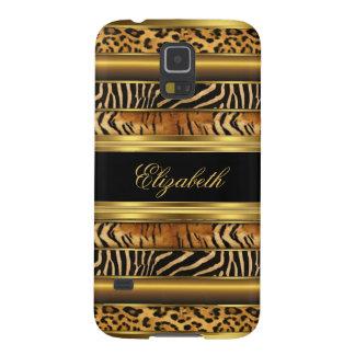 Elegant Classy Gold Mixed Animal Samsung Galaxy S5 Galaxy S5 Covers