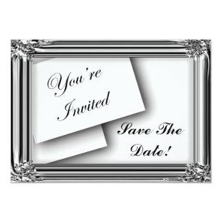 "Elegant, Classy Invitations 5"" X 7"" Invitation Card"
