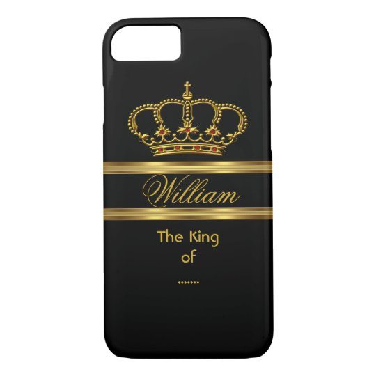 Elegant Classy Royal King Gold Black Crown 3