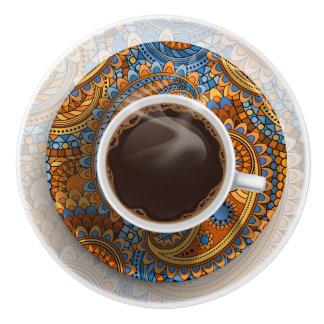 Elegant Coffee Cup Drawer Knob - SRF