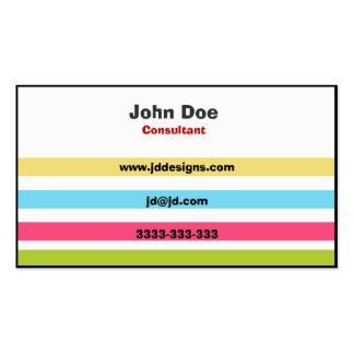Elegant  Color  businesscards Pack Of Standard Business Cards