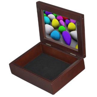 Elegant colorful ballons memory box