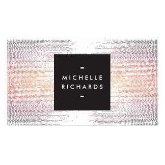 Elegant Colorful Confetti Dots on White II Pack Of Standard Business Cards