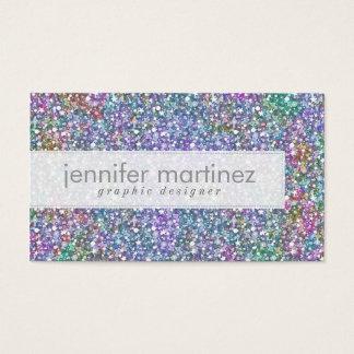 Elegant Colorful Purple Tint Glitter & Sparkles