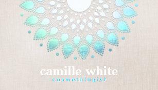 Skincare business cards zazzle uk elegant cosmetology holistic skincare and hair business card colourmoves