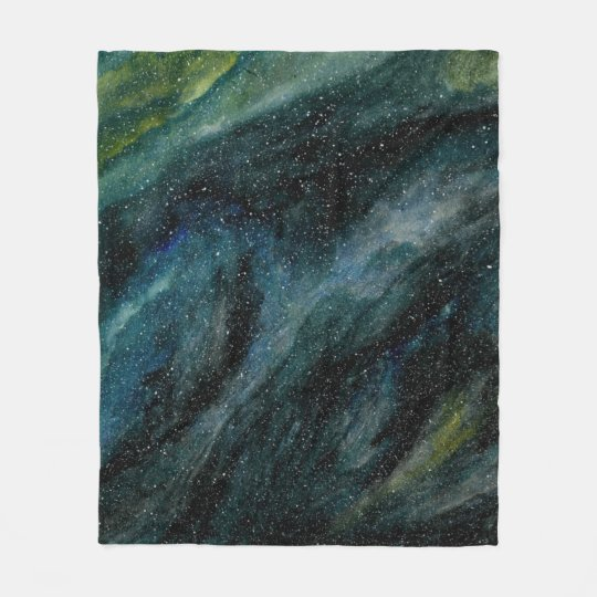 Elegant Cosmos Watercolor Fine Art Mason Ingrassia Fleece