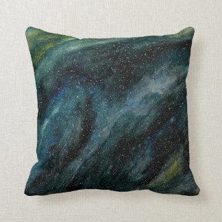 Elegant Cosmos Watercolor Fine Art Mason Ingrassia Throw Pillow