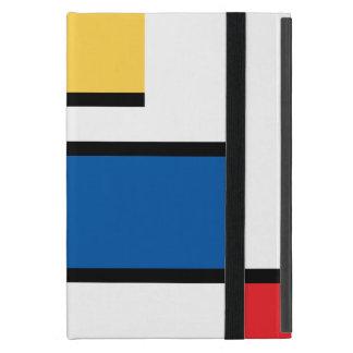 Elegant Cover iPad of Mondrian style Cover For iPad Mini