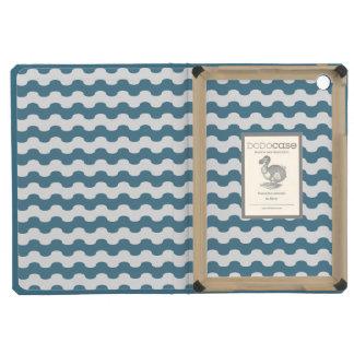 Elegant Cover iPad of sea of smooth waves in blue iPad Mini Retina Cover